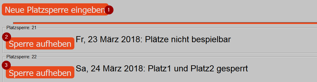 Platzinformation